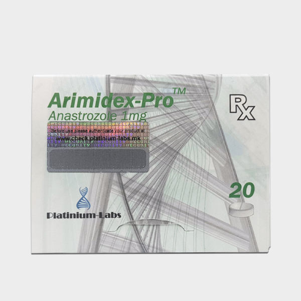 Armidex-Pro Platinium Labs (Armidex, Anstrazole) 1mg