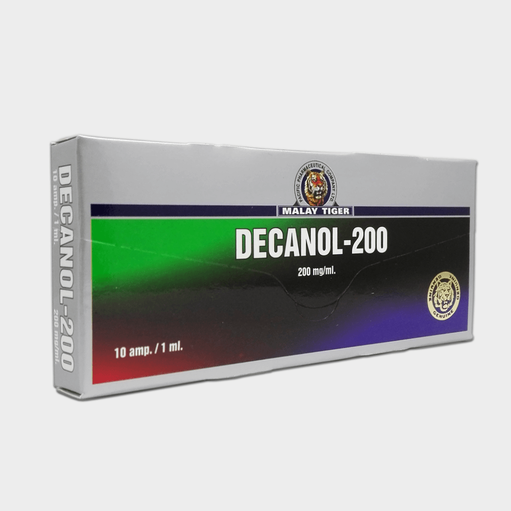 Decanol-200 Malay Tiger (Nandrolone Decanoate) 200mg