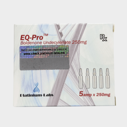 EQ-Pro (Boldenone Undecylenate) 250mg - Platinium Labs
