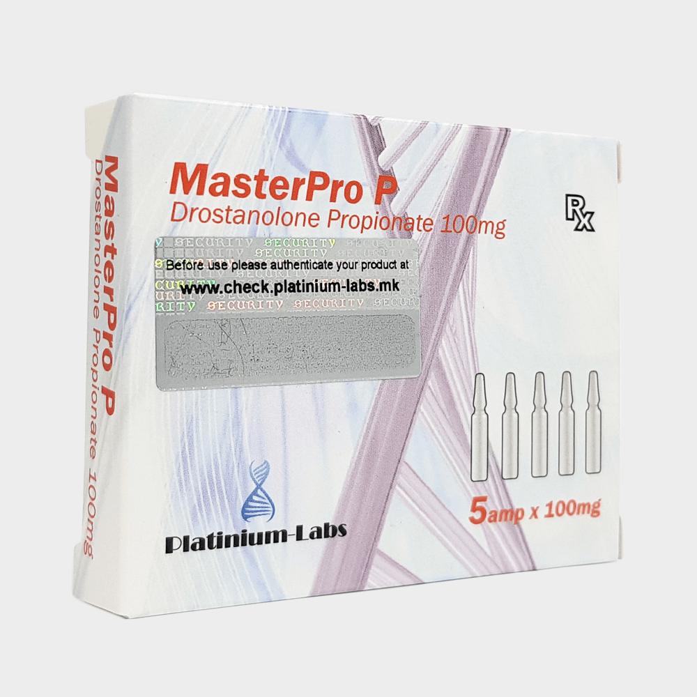 MasterPro P Platinium Labs (Drostanolone Propionate) 100mg