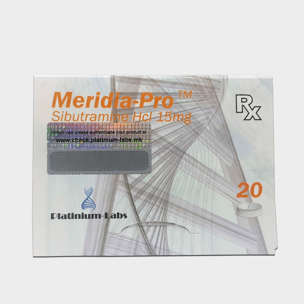Meridia-Pro Platinium Labs (Meridia, Sibutramine HCL)