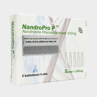 NandroPro P Platinium Labs Nandrolone Phenylopropionate 100mg/ml