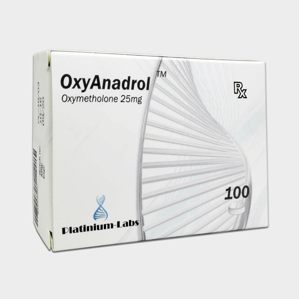 OxyAnadrol Platinium Labs (Anapolon) 25mg