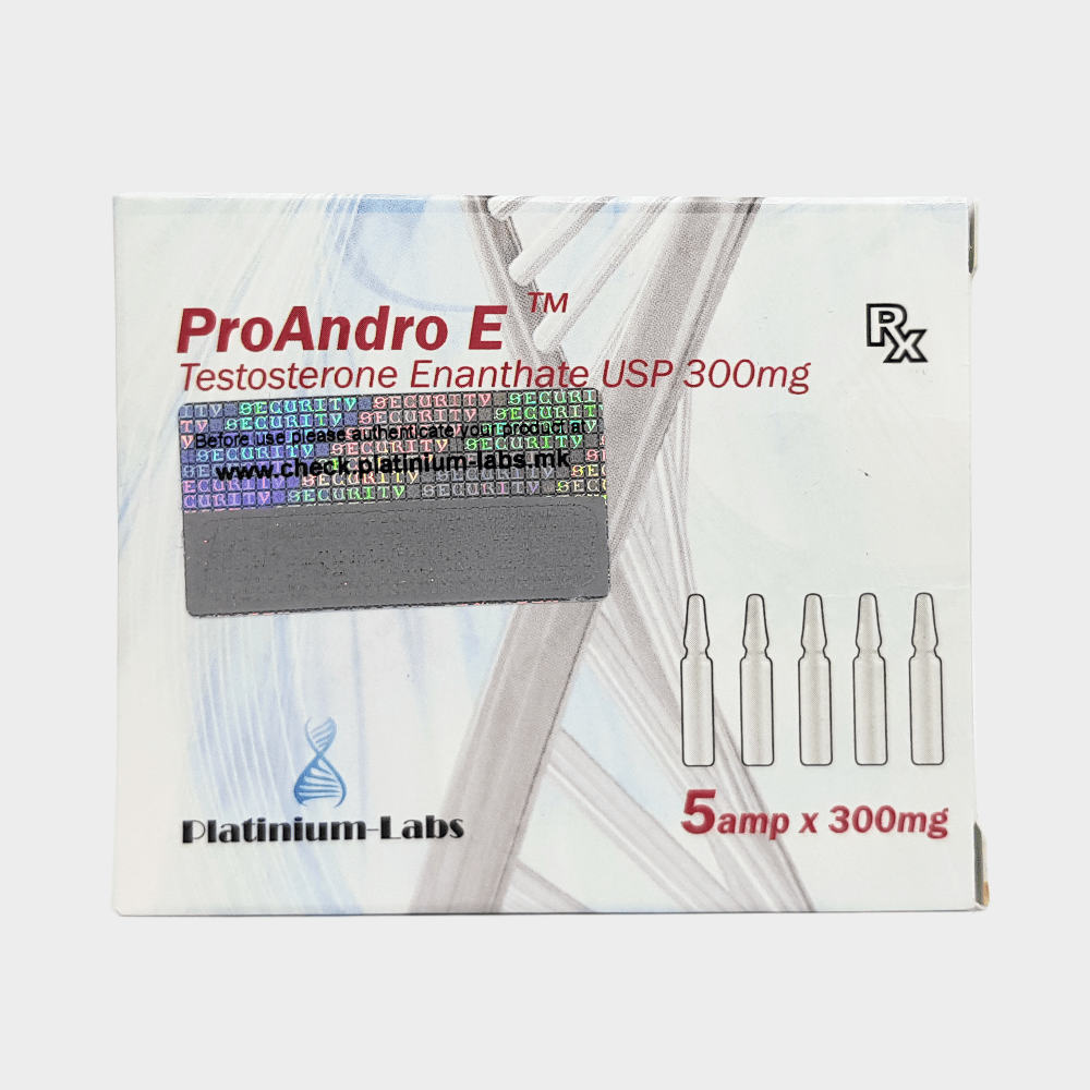 ProAndro E Platinium Labs (Testosterone Enanthate) 300mg