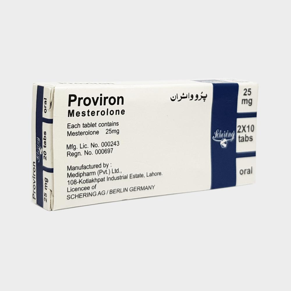 Apteczny Proviron (Mesterolone) 25mg -1blister