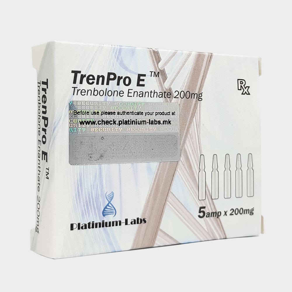 TrenPro E Platinium Labs Trenbolone Enanthate 200mg/ml