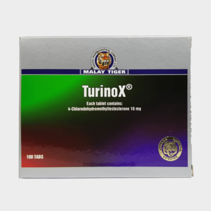 Turinox Malay Tiger (Turanabol) 4-Chlorodehydromethyltestosterone 10mg/tab